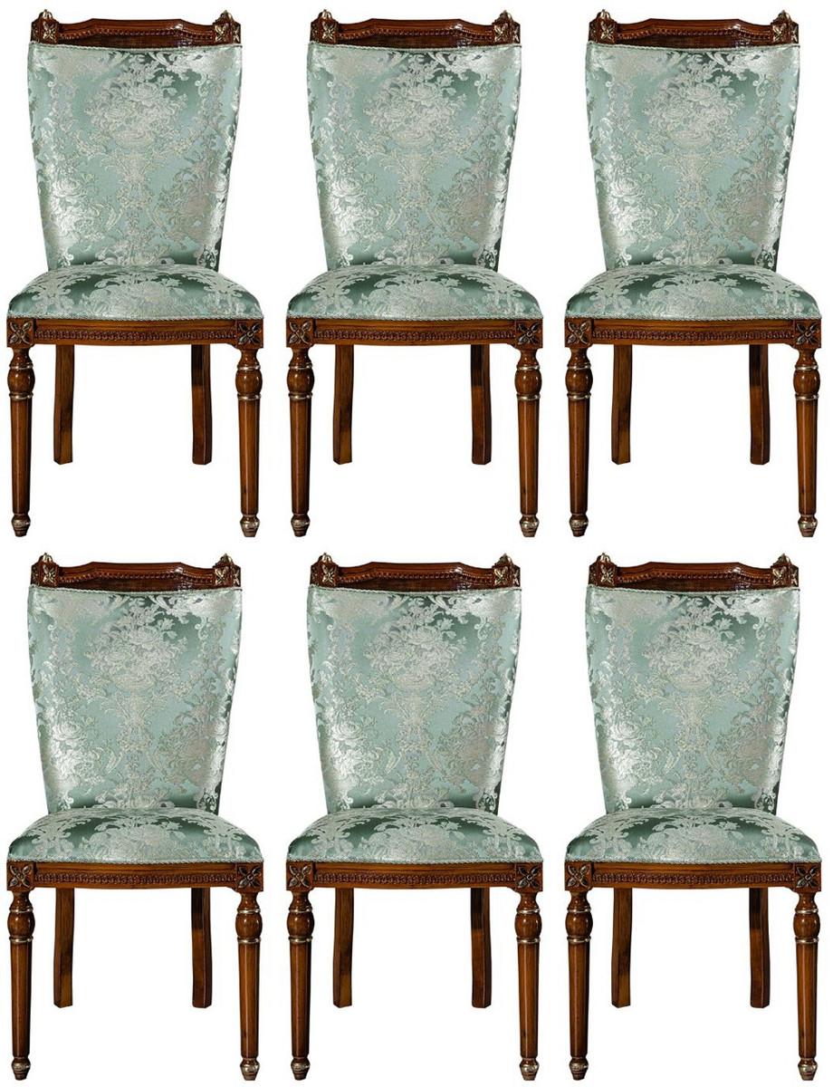Casa Padrino Luxury Baroque Dining Room, Dining Room Chairs Set Of 6