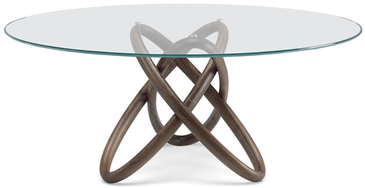 Casa Padrino Tavolo Da Pranzo Di Design Marrone Diverse Dimensioni Del Tavolo Tavolo Da Pranzo Rotondo