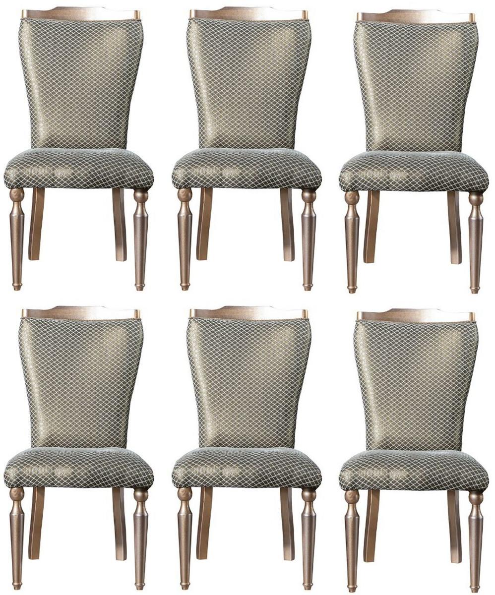 Casa Padrino set di sedie per sala da pranzo barocco di ...