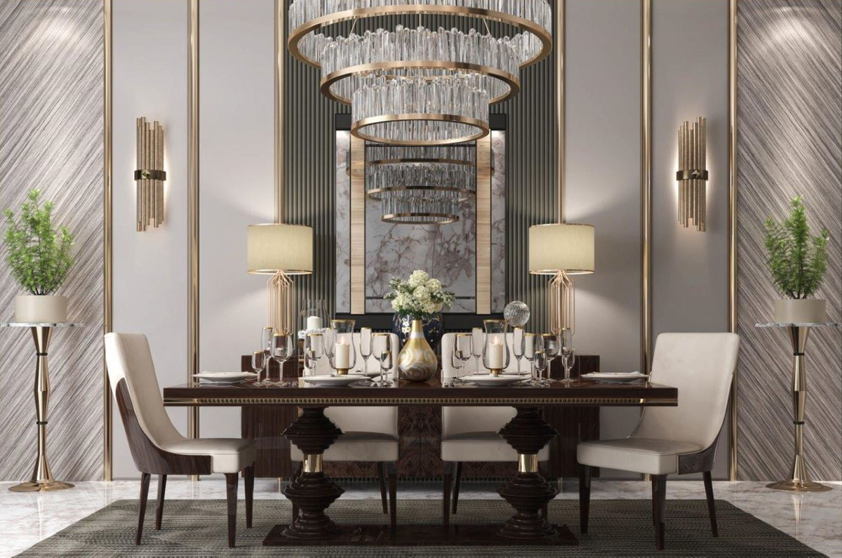 Noble Art Deco Dining Room Furniture, Art Deco Living Room