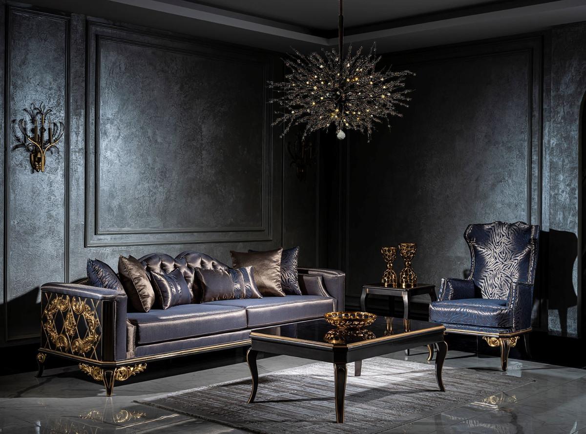 Casa Padrino Luxury Baroque Living Room, Living Room Set