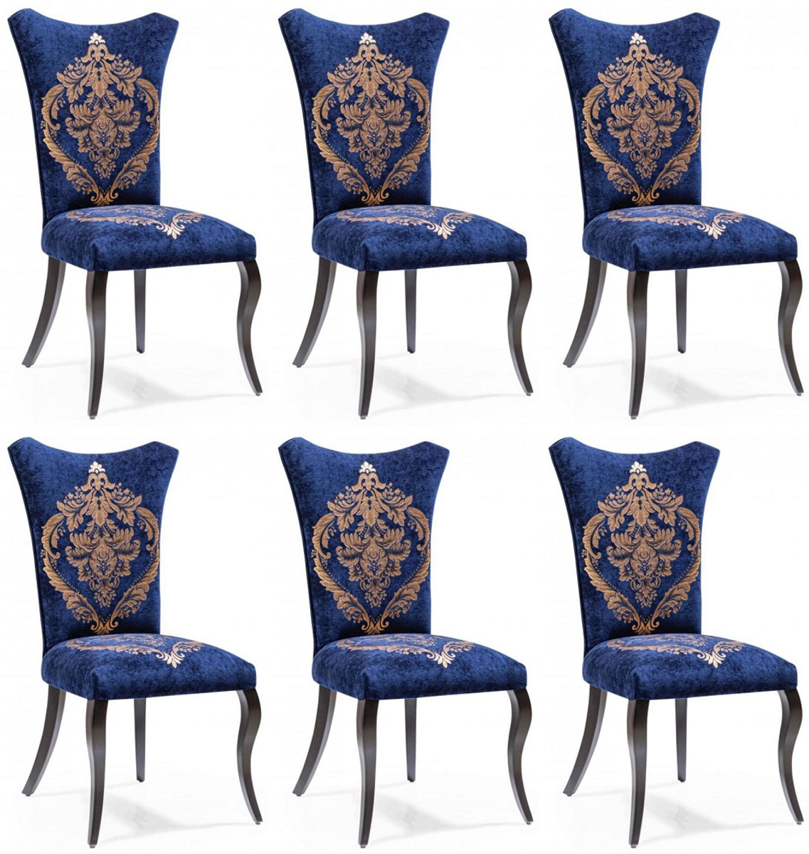 Casa Padrino Baroque Dining Room Chair, Dining Room Chairs Set Of 6