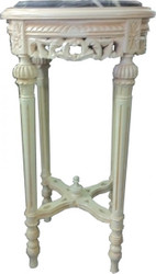 Baroque Side Table Creme Round 71 x 39 cm