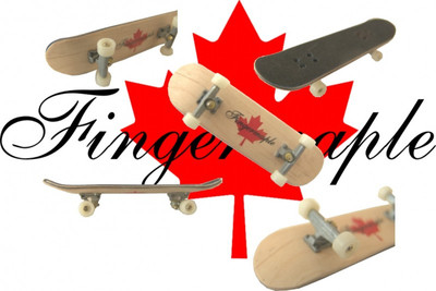 Fingermaple Fingerboard made of real wood – Bild 1