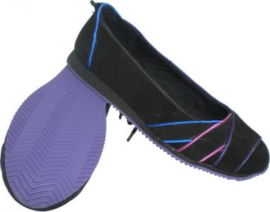 Etnies Woman Ballerinas Slinkie Black/Blue/Pink EU 37.5