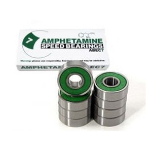 Amphetamine ABEC-7 Skateboard Kugellager  / 8-Ball Bearings - Bearing Set