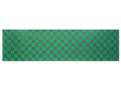 Black Diamond Skateboard Griptape Checker Green