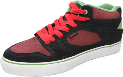 Emerica Skateboard Schuhe HSU Black / Red - Sneaker Sneakers Skateboard Shoes – Bild 2