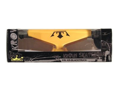 Krown Skateboard Achsen Set 5.0 orange (2 Achsen) – Bild 2
