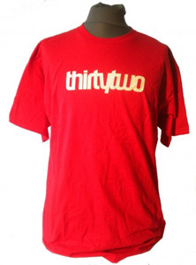 thirtytwo Skateboard T-Shirt Logo
