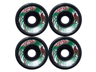 Big Foot Longboard Wheels Black 70mm/78a wheel set skateboard