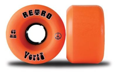 Retro Longboard Wheel Set VertZ 96A 65mm wheels skateboard