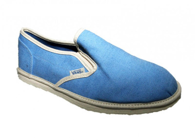 Vans Skateboard Shoes Classic Slip On Bamboo Blue – Bild 2