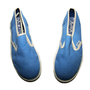 Vans Skateboard Shoes Classic Slip On Bamboo Blue – Bild 4