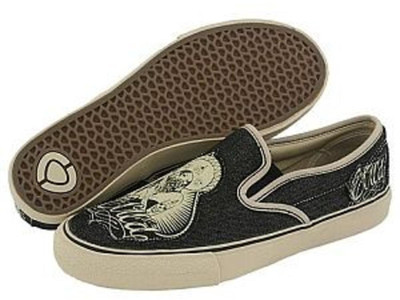 Circa Skateboard Shoes 50 Slips Black/Cream/Chola