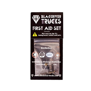 Fingerboard Zubehör Blackriver Trucks First Aid Single Base black – Bild 1