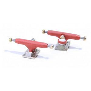 Fingerboard Achsen Set Blackriver Trucks 2.0 Hanger red trash – Bild 2