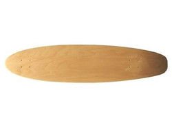 Moose Canadian Maple Kicktail Longboard Blank Deck Nature