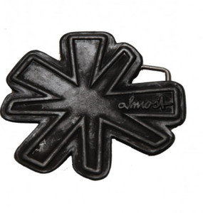 Almost Skateboard belt buckle Star