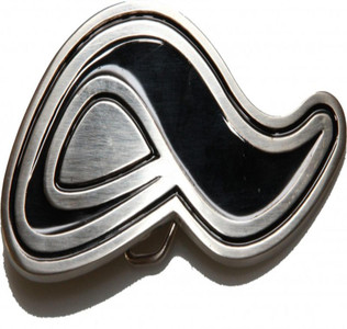 Adio Skateboard belt buckle Logo