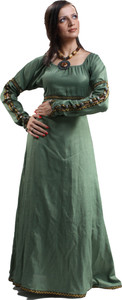 Forest Princess Renaissance Kleid - Green