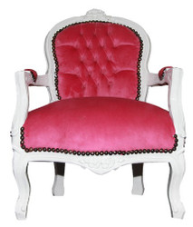 Baroque chair Rose / White - Chair