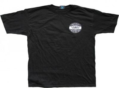 Vox Skateboard T-Shirt Black  With Logo – Bild 1