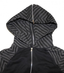 Ctrl Skateboard Pullover Zip Hood Split Square Sweater – Bild 2