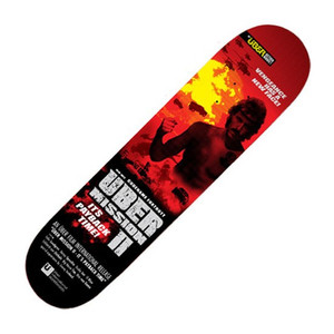 Ueber Skateboard Deck At The Movies Mission II 7.5 inch