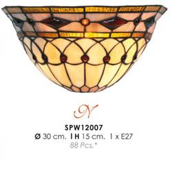 Tiffany wall lamp diameter 30cm, height 15cm SPW 12007 Lamp