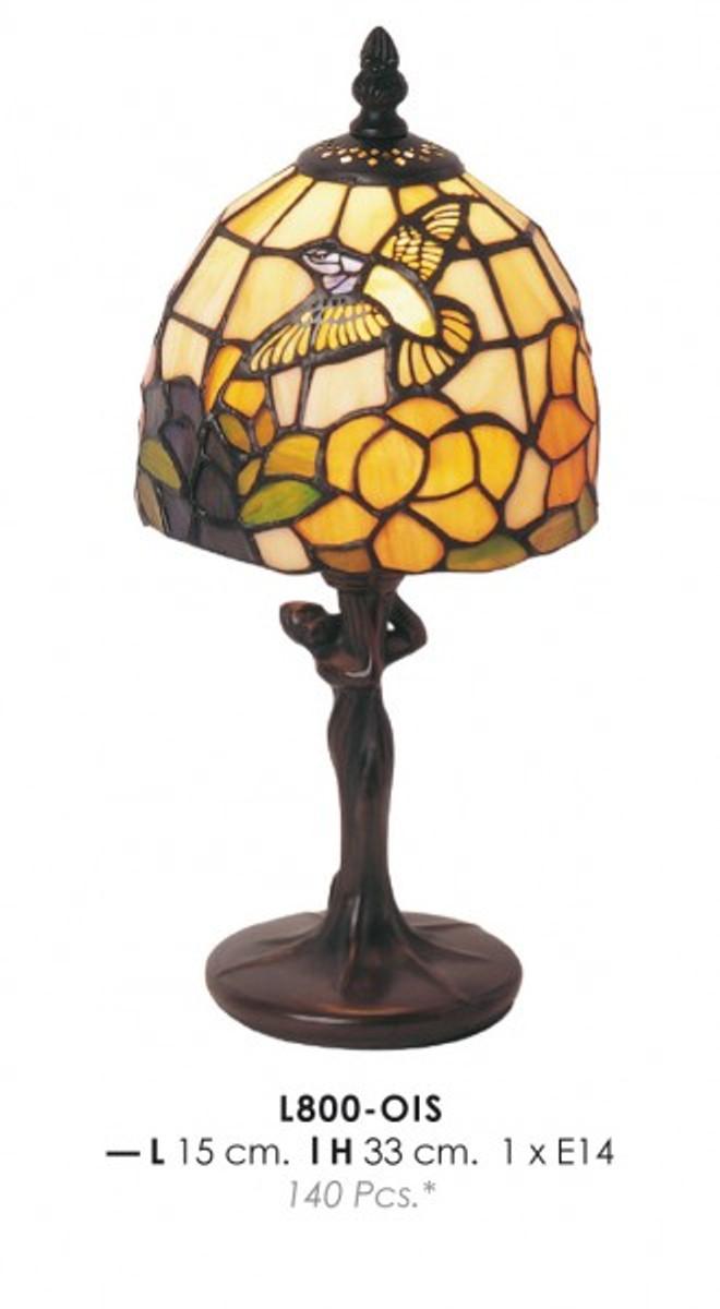 Tiffany Table Lamp Diameter 15cm Height 33cm L800 Ois Lamp Light