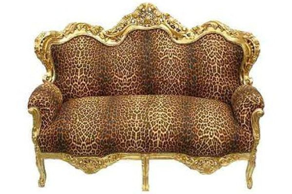 barock sofa garnitur master leopard gold sofas barock sofas. Black Bedroom Furniture Sets. Home Design Ideas