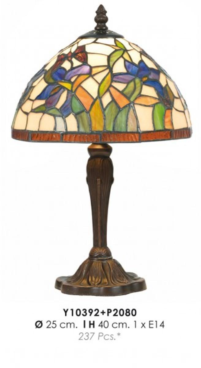 tiffany tischleuchte durchmesser 25cm h he 40cm y10392 p2080 leuchte lampe leuchten l ster. Black Bedroom Furniture Sets. Home Design Ideas
