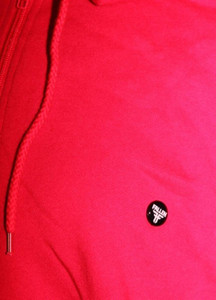 Fallen Skateboard Hooded Zip Sweater Jacke Red Button Logo – Bild 2