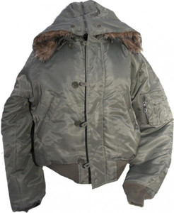 N2B Parka Jacket Olive - Flying Jacket - Flight Jacket – Bild 1