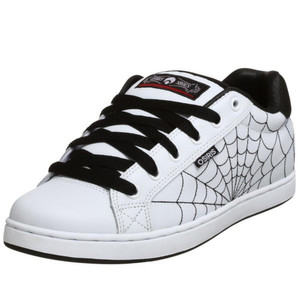 Osiris Skateboard Schuhe Troma II Kids White/Black/Red/Webs – Bild 2