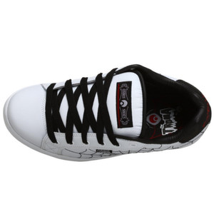 Osiris Skateboard Schuhe Troma II Kids White/Black/Red/Webs – Bild 5