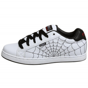 Osiris Skateboard Schuhe Troma II Kids White/Black/Red/Webs – Bild 1