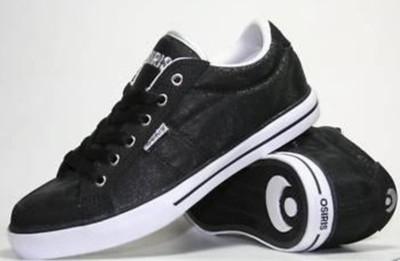 Osiris skate shoes Barron Black / White / Silver