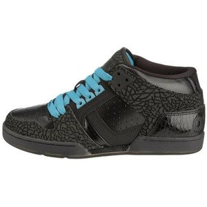 Osiris Skateboard Schuhe South Bronx Black/Grey/Pagoda – Bild 1
