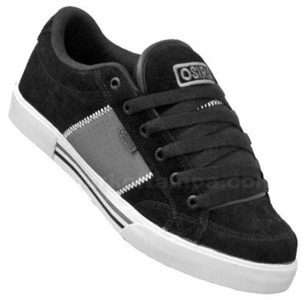 Osiris Skateboard Schuhe Q-379 Black/Charcoal