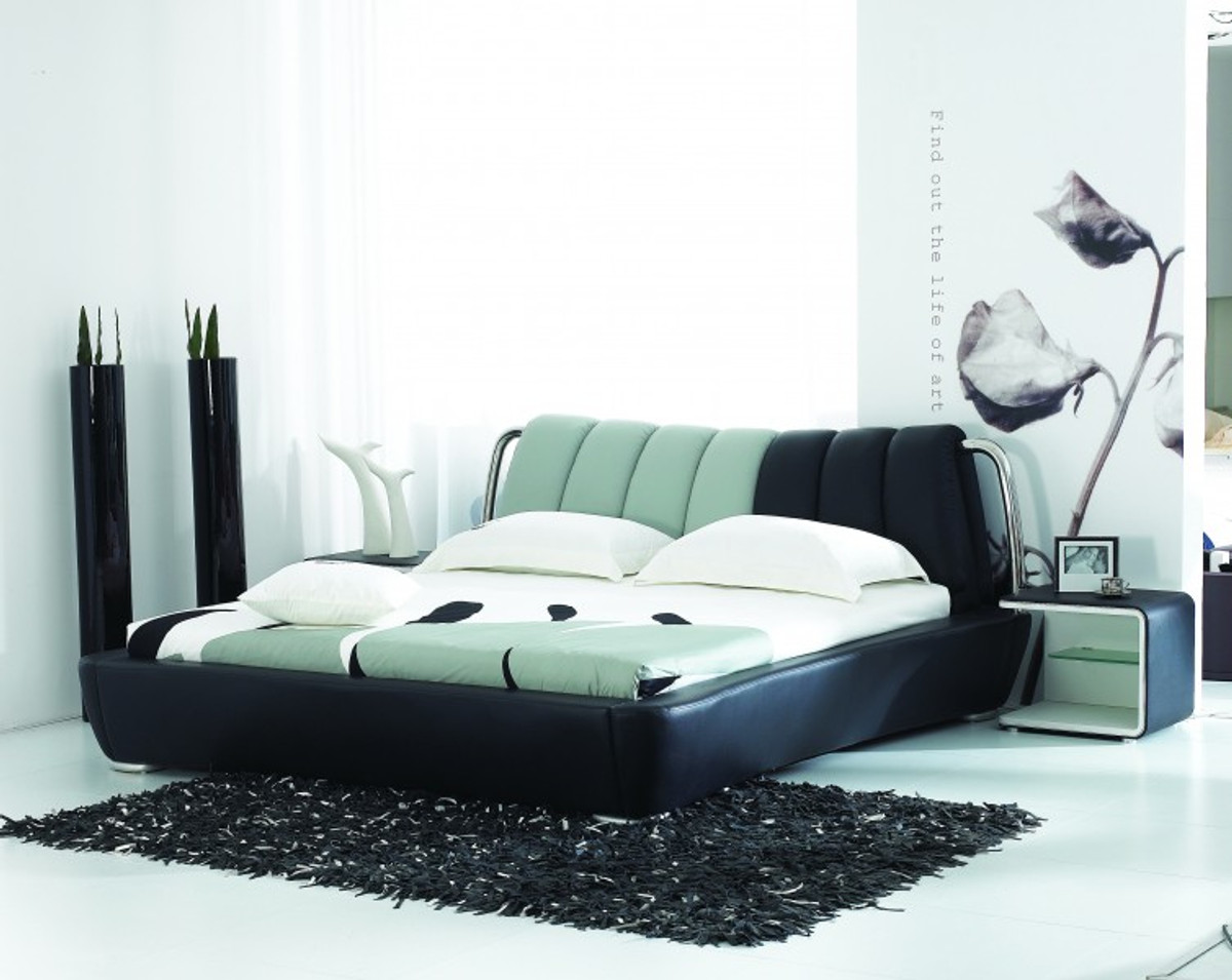 designer bett moderner wohnstil betten modern line. Black Bedroom Furniture Sets. Home Design Ideas