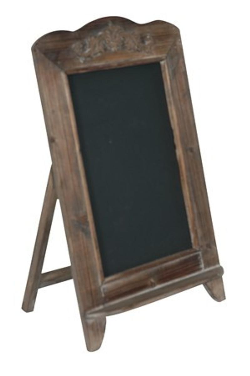 casa padrino barock schultafel mit st nder schreibtafel aus holz antik look braun gartenm bel. Black Bedroom Furniture Sets. Home Design Ideas