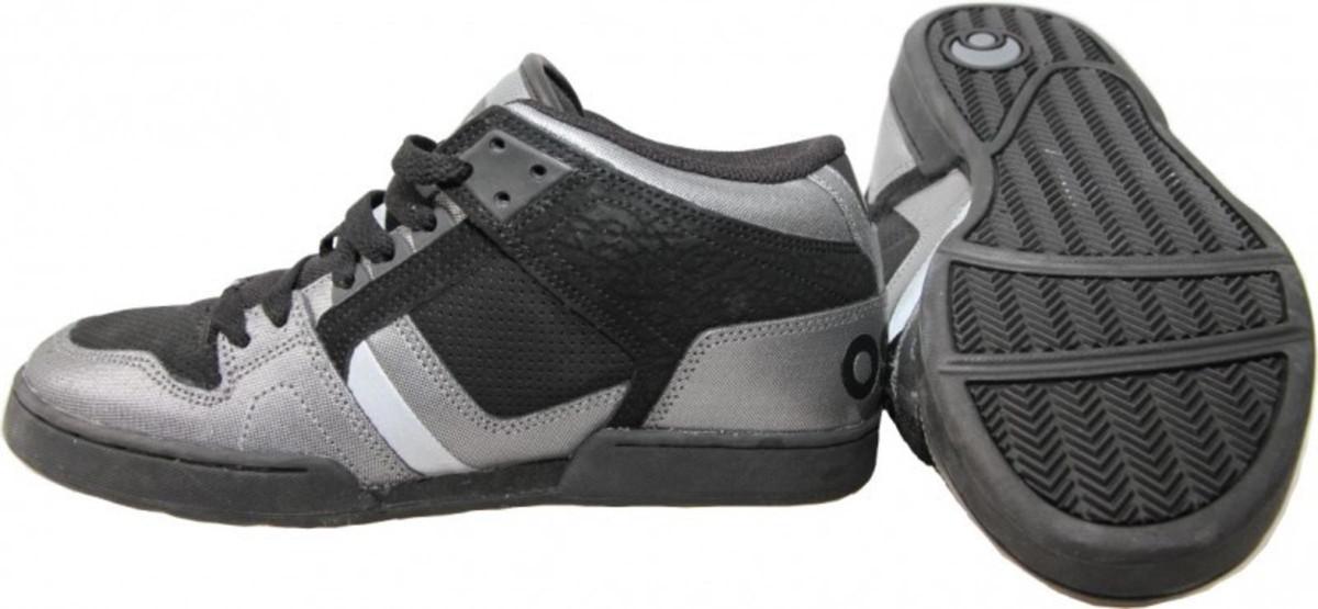 Osiris South Bronx Skate Shoes CHR   Black   Silver Shoes size 42 ed9dd8d6aad