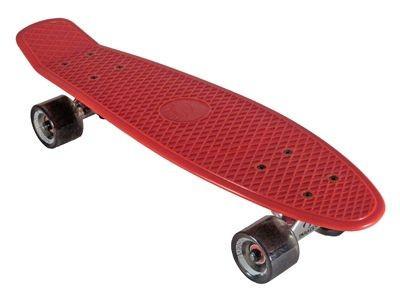 Plastic skateboard old school cruiser 70s Style Red / Black plastic skateboard - Cruiser Longboard Skateboard vinyl Plastic skateboard old school cruiser 70s Style Pink / Black plastic skateboard - Cruiser Longboard Skateboard vinyl Pla