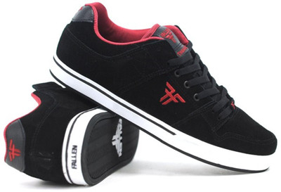 Fallen Skateboard Schuhe Rival SL Black/Red