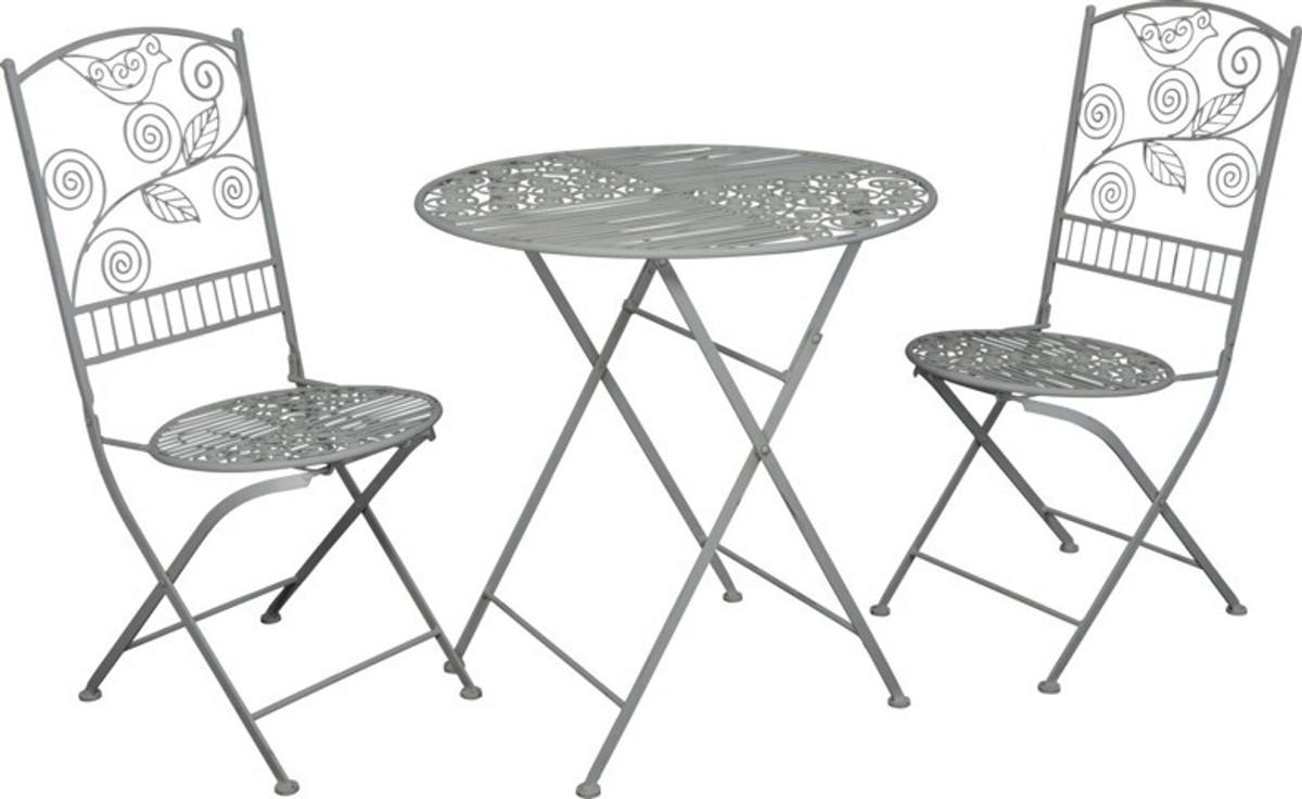 Jugendstil Gartenmobel Set Bistro Set 1 Tisch Mit 2 Stuhlen