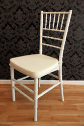 Casa Padrino designers including acrylic chair cushions White / Creme - White Ghost Chair - Furniture polycarbonate - polycarbonate chair - acrylic furniture - ghost chair