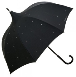 Designer Chantal Thomass umbrella Venice with bling bling rhinestones - Umbrella - Elegant and Extravagant - Made in Paris
