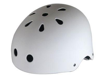 Krown Skateboard helmet White - BMX, inline skate, longboard helmet - protective equipment
